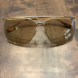 TOM FORD Sunglasses Made in Italy Gold brown